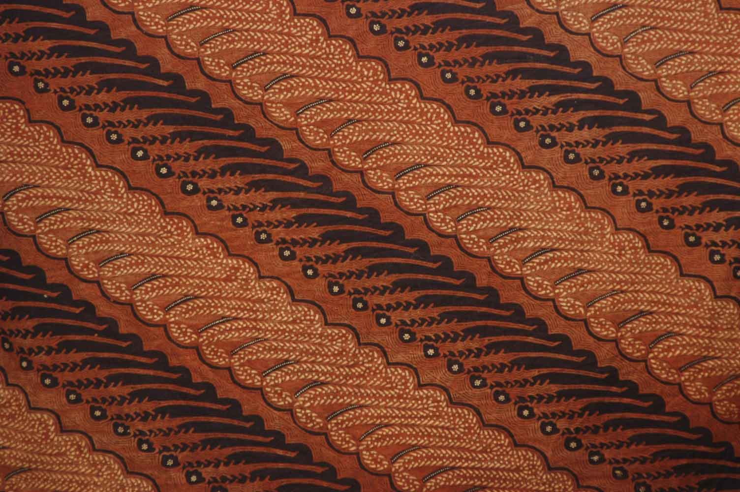 Bunga Ucapan Batik Style Background