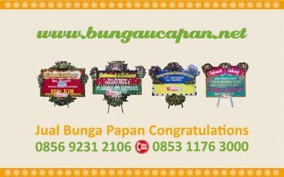 Bunga Congratulations Selamat & Sukses Pelantikan Gubernur